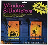 Amscan International 459021 Fenster Spider Silhouette