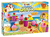 Craze 54179 - Magic Sand Icecream und Bakery Set, circa 700 g