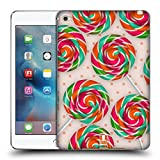 Head Case Designs Pfefferminzbonbon Spirale Lutscher Soft Gel Hülle für Apple iPad mini 4