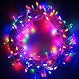 RPGT® 100er LED 10M Warmweiß Lichterkette Weihnachten Party Leuchte