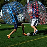 Befied Bubble Soccer Bubble Bälle Bubble Football Bumperball aus TPU (Gepunktet Rot)
