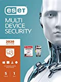 ESET Multi-Device Security 2020 | 5 Geräte | 1 Jahr | Windows (10, 8, 7 und Vista), macOS, Linux und Android | Download