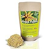 ERASVITAL® Pinien Pollen 100g Wildsammlung 99% Zellwandgebrochen in einem praktischen,...