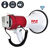 Pyle PMP52BT Pyle Pro bluetooth megaphone with AUX (3.5mm) Input Built-in USB Flash & SD Memory Card Readers and