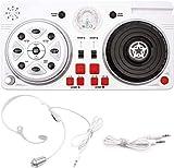 DJ-Controller, Party-Mixer, Spielzeug für Kinder, DJ-Set mit Mikrofon und Disco-Kugel,...