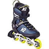 K2 Skates Herren Inline Skate Freedom M — Blue - Yellow — EU: 47 (UK: 11.5 / US: 12.5) — 30E0341
