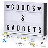GOODS+GADGETS LED Lichtbox Blockbuster Leuchtbox Light Box Leuchtkasten + USB-Netzteil +...