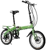 YUNLILI Mehrzweck KLINGELN Kinder Fahrrad Kinder faltrad 16-Zoll Student klapping Fahrrad...