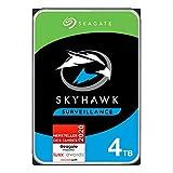SeagateSkyhawk, interne Festplatte 4 TB HDD, Videoaufnahme bis zu 64 Kameras, 3.5 Zoll,...