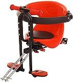 SHZICMY Kindersitz 30kg Kinder Fahrradsitz Sicherheits-Kindersitz Baby Fahrrad-Vordersitz...