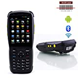 Wenhu 1D Barcode-Handscanner Bluetooth Android Rugged Mobile Data Terminal-PDA NFC 3G Data Collector 1 SIM-Karte 2D