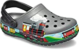 crocs Unisex-Kinder Crocsfl Train Band K Clogs, Grau (Slate Grey 0da), 29/30 EU