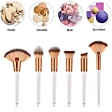 Make-up Pinsel Kosmetikpinsel Set Lose Puderpinsel Lidschattenpinsel Mischpinsel Concealer Pinsel Fächerpinsel Make-up Pinsel Kit