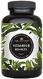Vitamin B Komplex Kapseln - Mit 500 µg Vitamin B12 pro Tagesdosis - Besonders hochdosiert...