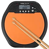 2 In 1 Digital-elektronische Dumb Drum Pad Metronome Praxis Drum For Jazz Drums Übung Trainings-Praxis Metronome