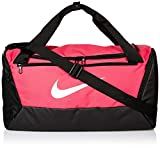 Nike NK BRSLA S DUFF - 9.0 Gym Bag, Rush Pink/Black/White, 51 cm