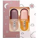 Lippe Plumper Set 5.5ml Mini Natürliche Lippenpflege Serum Mundverstärker Plumper Gloss...