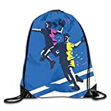 Handball Drawstring Backpacks Sport Leisure Bundle Backpack Beam Backpack Sport Gym Travelling Bag