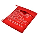 huixi Mikrowellen-Backkartoffel-Kochbeutel Baked Potatoes Rice Washable Bag - Red