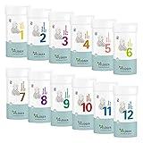 PFLÜGER Schüßler Salze Set Nr. 1-12 je 400 Tabletten - Basispaket für Ihre...