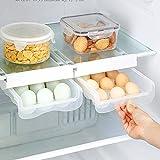 BFDMY Eierhalter, Kühlschrank Organizer Ordnungssystem, Kühlschrank Eier...