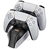 Snakebyte PS5 Twin Charge 5 - weiß - Playstation 5 Ladestation für DualSense Controller,...