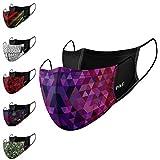 P.A.C. Lightweight 2er-Pack Premium Community-Maske, Mund- & Nasenmaske, Behelfsmaske,...