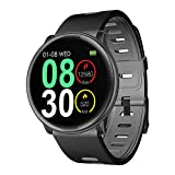 Smartwatch, UMIDIGI Uwatch2 Fitness Tracker Uhr Armband Sport Uhr Smart Watch mit Facebook, Twitter, Whatsapp, Skype-Benachrichtigung kompatibles IOS und Android für Herren Damen(2 Uhrenarmbändern)