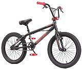 KHE BMX Fahrrad United ROOUSE schwarz 20 Zoll mit Rotor nur 11,65kg!