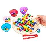 Gesellschaftsspiel mit Clip, Gesellschaftsspiel mit Kugeln, Regenbogen-Spielzeug,...