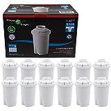FilterLogic FL601T | 12er Pack Wasserfilterkartuschen kompatibel mit Brita Classic...