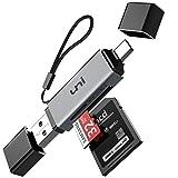 SD Kartenleser, uni USB Kartenleser, USB C Kartenleser, Micro SD Adapter, Kartenlesegerät...