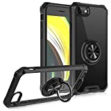 Jubyi Handyhülle für iPhone 12 Pro Max Hülle Silicone TPU Bumper Transparent Harte PC...