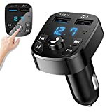 Bluetooth Fm Transmitter Auto Radio Transmitter Bluetooth Adapter Auto mit 2 USB...