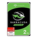 Seagate Barracuda, interne Festplatte 2 TB HDD, 3,5 Zoll, 7200 U/Min, 256 MB Cache, SATA 6...