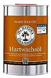 OLI-NATURA Hartwachsöl, geprüft Allergikerfreundlich, Inhalt: 1 Liter, Natur