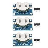 Praktische Anwendbarkeit Stabiler Knopf Batteriehalter 2,54 mm Kontaktstiftanschluss...