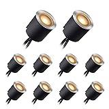 LED Bodeneinbaustrahler mit Schwarzer Schutzhülle, LED Terrassenbeleuchtung...
