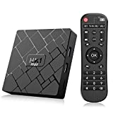 Bqeel Android TV Box Smart box/4GB+64GB/ HK1 MAX mit RK3318 Quad-Core 64bit Cortex-A53 / WiFi 2.4GHz/ 5GHz/ 802.11 b/g/n Gigabit/ 4K HD Smart TV Box Android Box