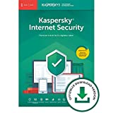 Kaspersky Internet Security 2020 Standard | 1 Gerät | 1 Jahr | Windows/Mac/Android | Aktivierungscode per Email