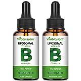 Liposomale Vitamin B-Komplex Flüssigkeit, MAX Absorption, enthält die Vitamine B1, B2,...