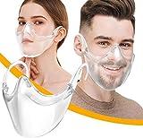 Transparent Schutzvisier, Safety Gesichtsschutzschild Anti-Öl Splash Transparent Schutzvisier,...