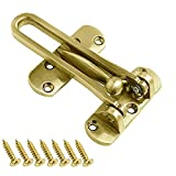 Home Security Türschloss Swing Bar Lock-Zink-Legierung Sicherheit Latch-Schutz-Haken für...