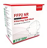 SALDI24 - Atemschutzmaske FFP2 NR Maske - EU CE 2163 Zertifiziert EN 149 Schutzmaske 20...
