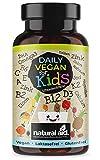 Daily Vegan for Kids - Vitamine & mehr mit B12 + D3 + K2 + Omega3 + B2 + B6 + A + C + E +...