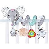 Spirale Spielzeug Baby, Babyschale Spielzeug, Baby Activity-Spirale Kette Kinderwagen...