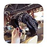 Stirnband im Vintage-Stil mit Diamantbesatz, für Herbst oder Winter, für Damen und...