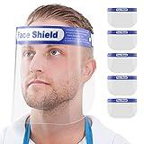5X Gesichtsschutz-Schirm Augenschutz Face-Shield Schutzschild Gesichtsschirm