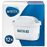 BRITA Wasserfilter-Kartusche MAXTRA+ 12er Pack – Kartuschen für alle BRITA Wasserfilter...