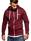 JACK & JONES Herren Sweatjacke Hoodie (Medium, Port Royale)